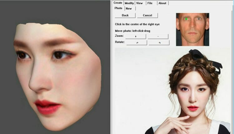 FaceGen Artist DEMO DAZ Studio 3DCG Chrome 3D